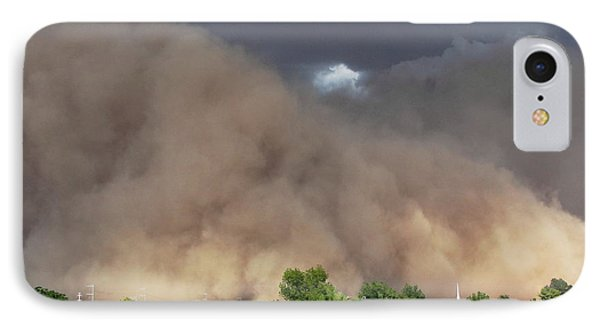 The Haboob Is Coming IPhone Case