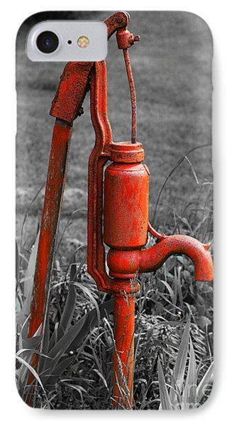 The Hand Pump IPhone Case by Barbara McMahon