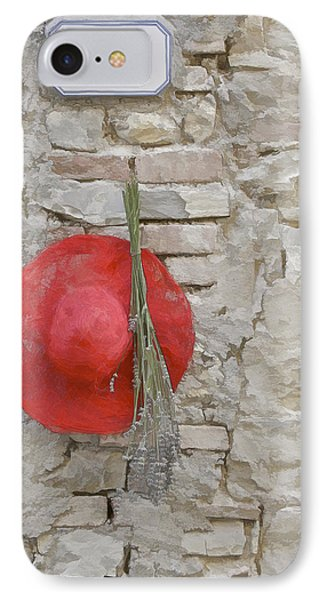 The Hanging Red Hat Phone Case by David Letts