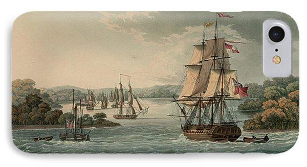The Harbour Of Port Cornwallis IPhone Case