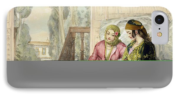 The Harem, Plate 1 From Illustrations IPhone Case by John Frederick Lewis