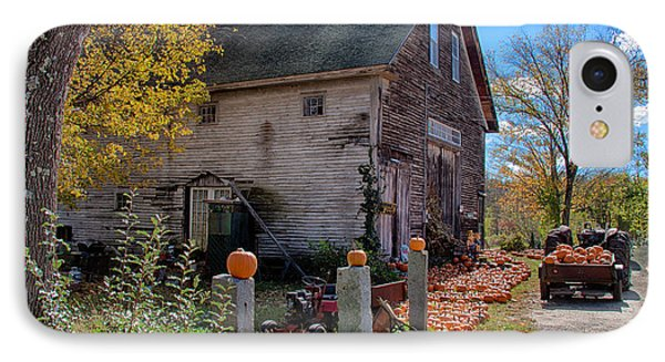 The Harvest Is In Phone Case by Jeff Folger