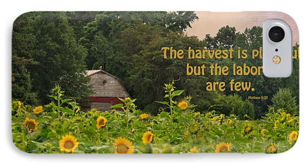 The Harvest Is Plentiful IPhone Case by Sandi OReilly