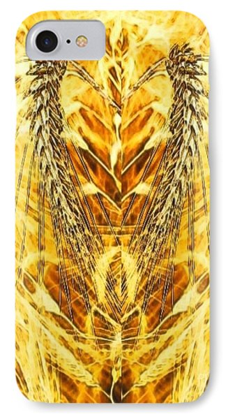 The Harvest Is Plentiful The Laborers Are Few Phone Case by PainterArtist FIN