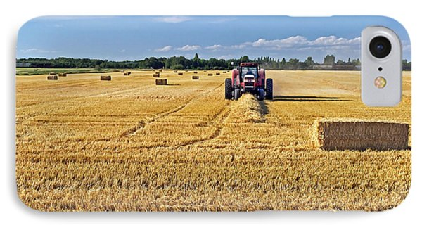 IPhone Case featuring the photograph The Harvest by Keith Armstrong