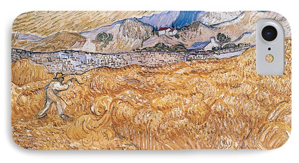 The Harvester Phone Case by Vincent Van Gogh