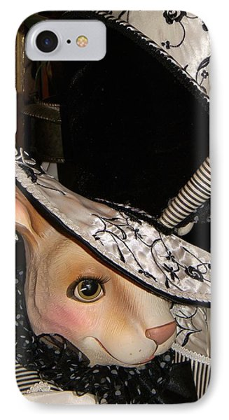 The Hat IPhone Case by Jean Goodwin Brooks