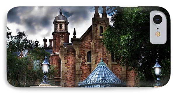 The Haunted Mansion IPhone Case by Mark Andrew Thomas
