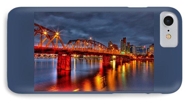 The Hawthorne Bridge - Pdx IPhone Case by Thom Zehrfeld