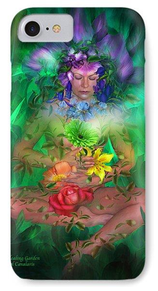 The Healing Garden Phone Case by Carol Cavalaris