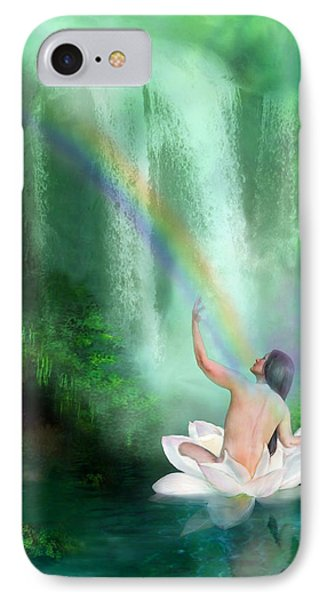 The Healing Place Phone Case by Carol Cavalaris