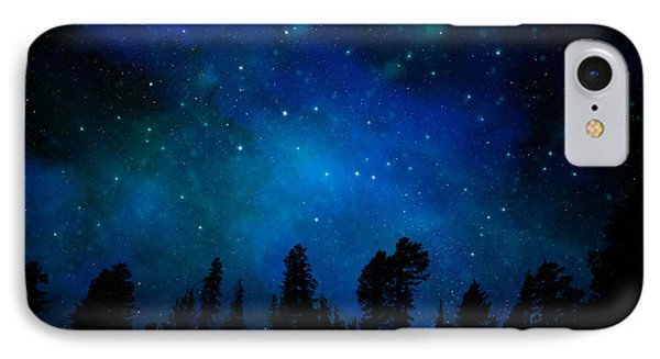 The Heavens Are Declaring Gods Glory Mural IPhone Case by Frank Wilson