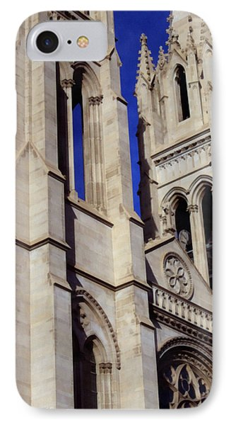 The Heights Of The Cathedral Basilica Of The Immaculate Conception Phone Case by Angelina Vick