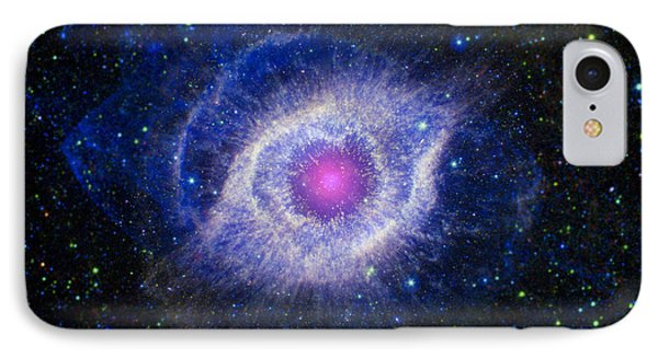 The Helix Nebula IPhone Case by Adam Romanowicz