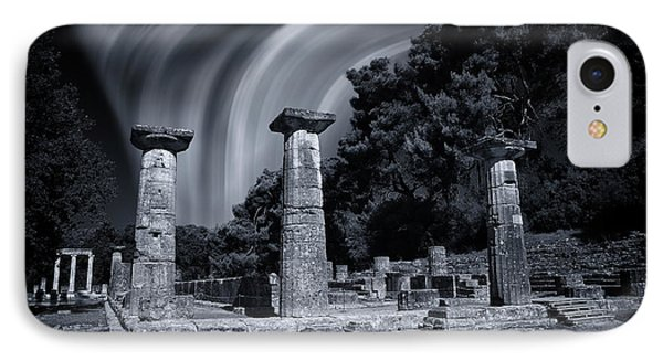 IPhone Case featuring the photograph The Heraion Of Ancient Olympia by Micah Goff