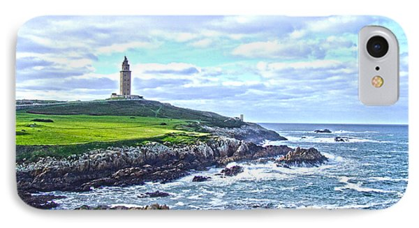 The Hercules Tower IPhone Case by Andrew Middleton