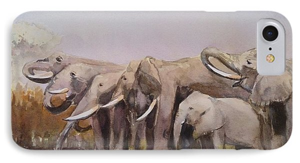 The Herd IPhone Case by Kathy  Karas