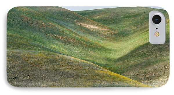 The Hills Of Gorman Ca IPhone Case