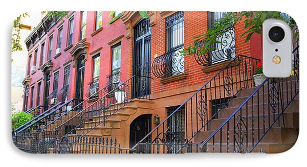The Historic Brownstones Of Brooklyn IPhone Case