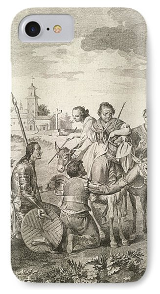 The History Of Don Quixote IPhone Case