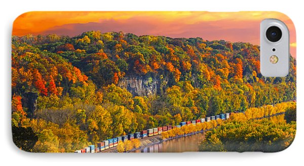 The Hobo Train Up The Mississippi IPhone Case by Randall Branham