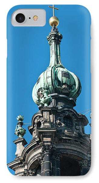 The Hofkirche (church Of The Court IPhone Case