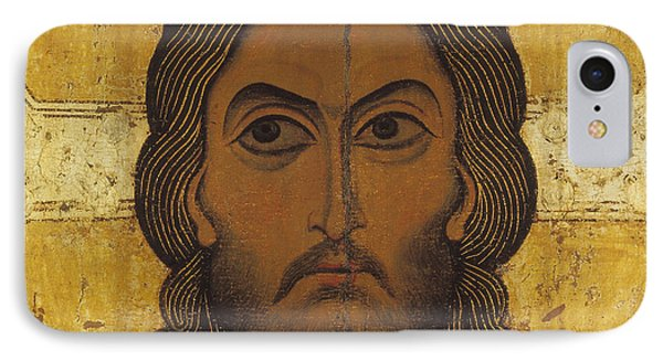 The Holy Face IPhone Case by Novgorod School