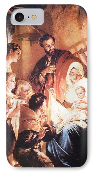 The Holy Family Phone Case by Unknown