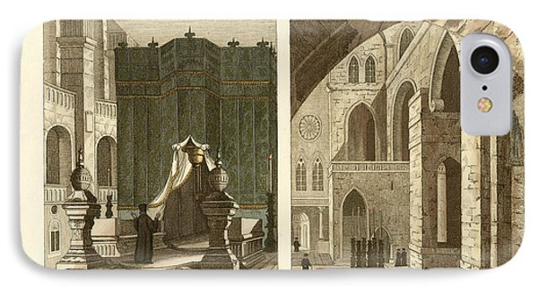 The Holy Sepulcher Of Jerusalem Phone Case by Splendid Art Prints