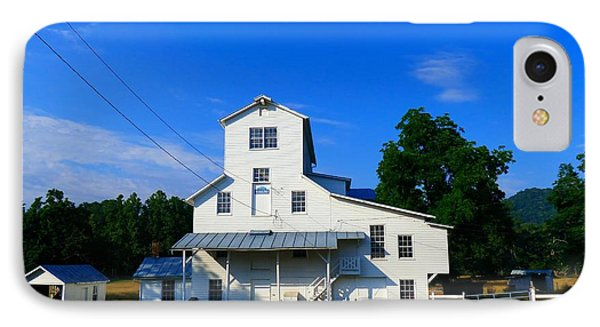 The Homan Mill IPhone Case by Teena Bowers