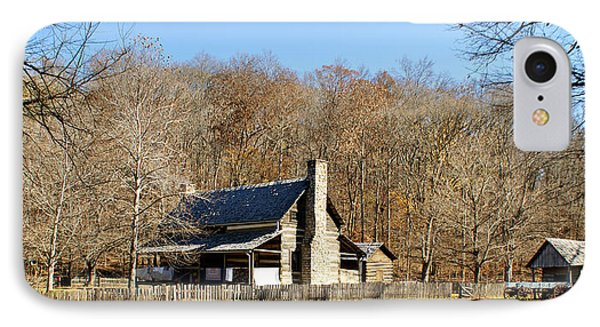 The Homeplace - Main House IPhone Case by Sandy Keeton