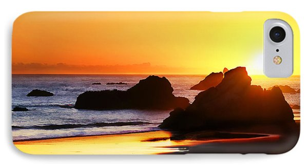 The Honeymoon Sunset  IPhone Case