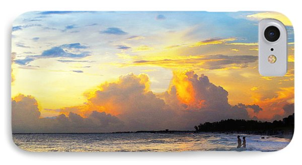 The Honeymoon - Sunset Art By Sharon Cummings IPhone Case by Sharon Cummings