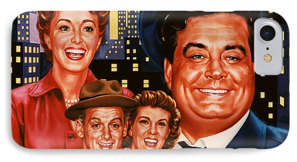 The Honeymooners IPhone Case