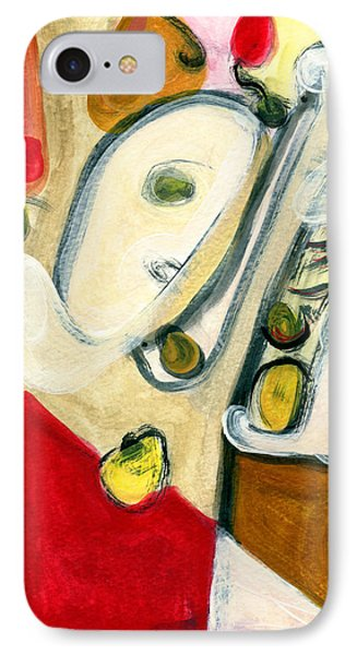 The Horn Player IPhone Case by Stephen Lucas
