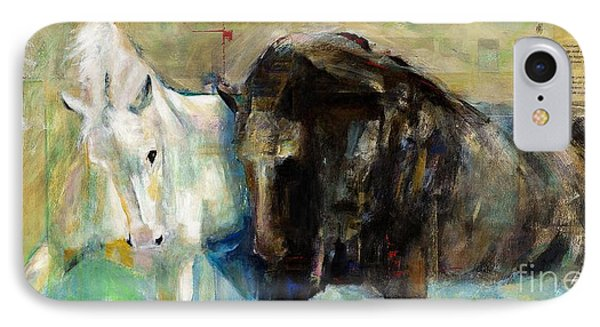 The Horse As Art Phone Case by Frances Marino