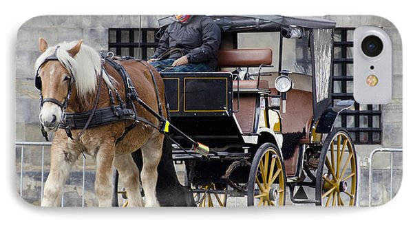 The Horse Buggy Phone Case by Pravine Chester