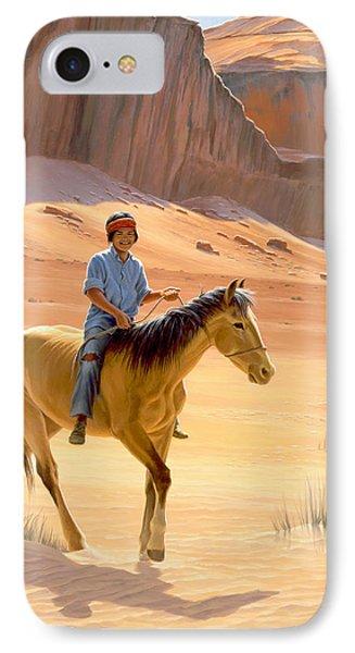 The Horseman IPhone Case by Paul Krapf
