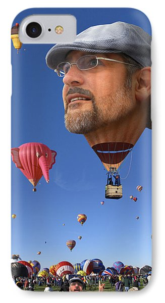 The Hot Air Surprise Phone Case by Mike McGlothlen