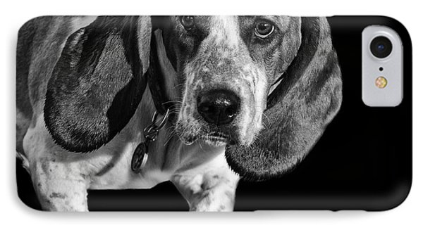 The Hound IPhone Case by Camille Lopez