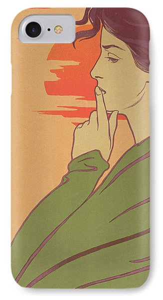 The Hour Of Silence Phone Case by Henri Georges Jean Isidore Meunier