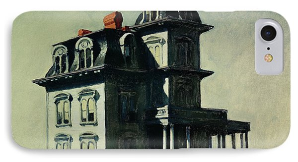 The House By The Railroad IPhone Case by Edward Hopper