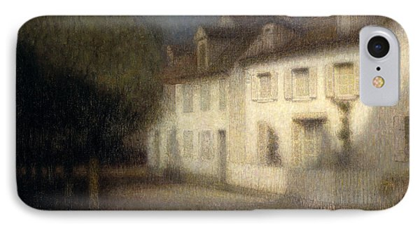 The House IPhone Case by Henri Eugene Augstin Le Sidaner