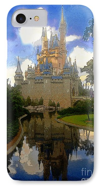 The House Of Cinderella IPhone Case by David Lee Thompson