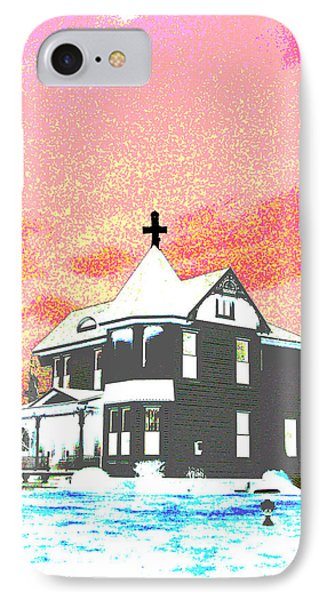 The House Of Haunted Hill Phone Case by Jimi Bush