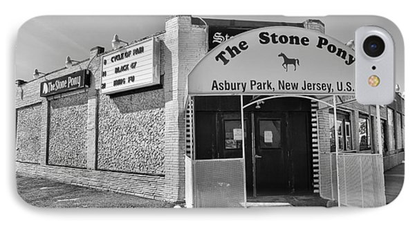 The House That Bruce Built - The Stone Pony IPhone Case by Lee Dos Santos