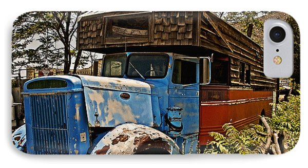 The House That Peterbilt IPhone Case by Lee Craig