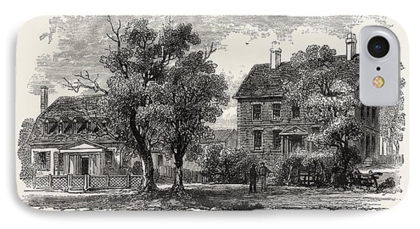 The House Where Cornwallis Surrendered, American War IPhone Case