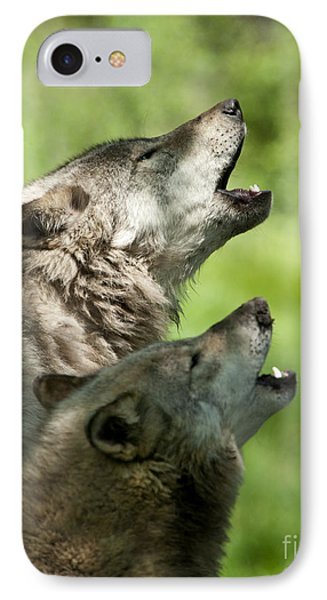 IPhone Case featuring the photograph The Howling by Wolves Only