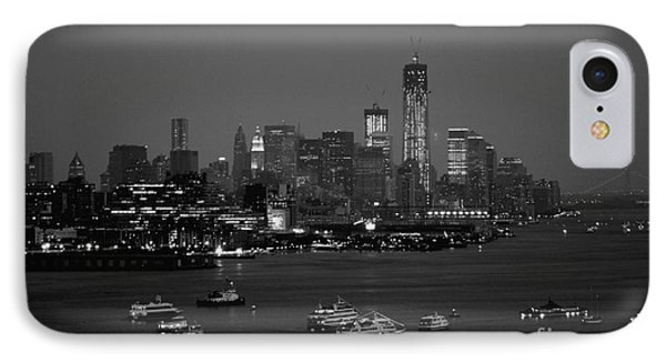 The Hudson And Freedom Tower IPhone Case by Living Color Photography Lorraine Lynch